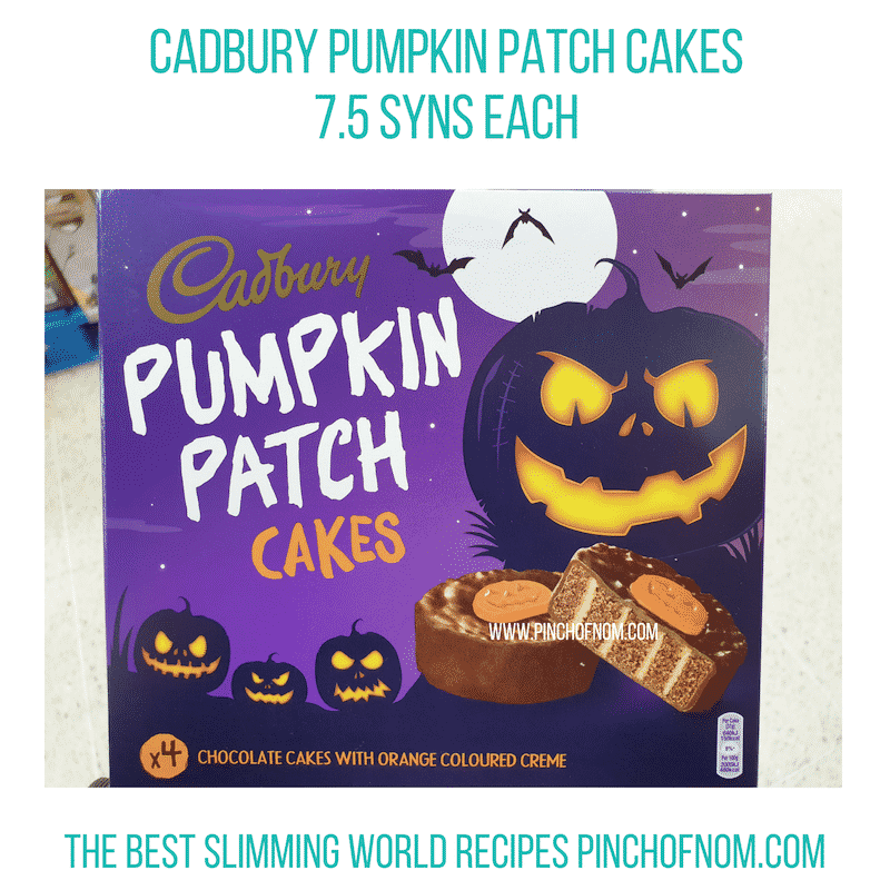 Cadbury Pumpkin Patch - Pinch of Nom Slimming World Shopping Essentials