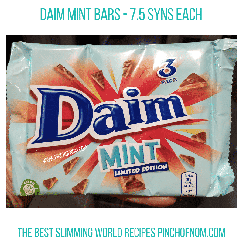 Daim Mint - Pinch of Nom Slimming World Shopping Essentials