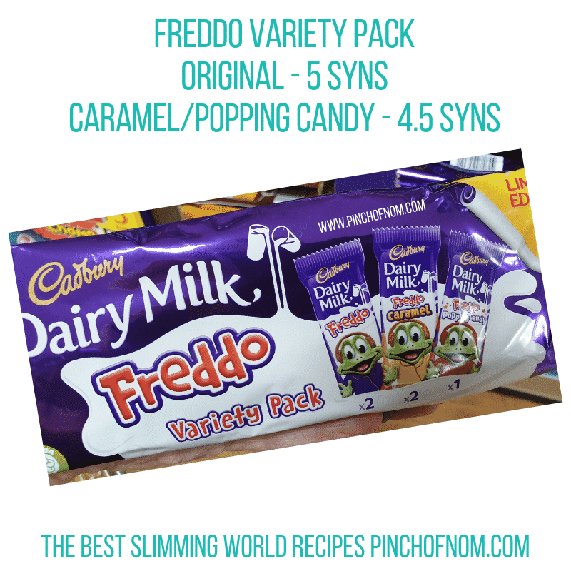 Freddo Variety Pack - Pinch of Nom Slimming World Shopping Essentials