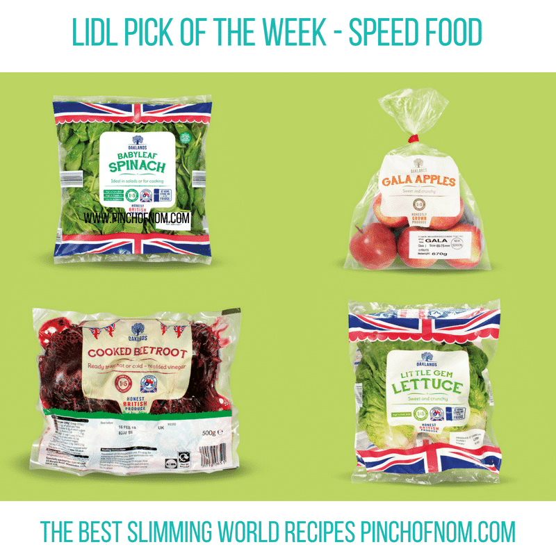 Lidl Pick of the Week - Pinch of Nom Slimming World Shopping Essentials