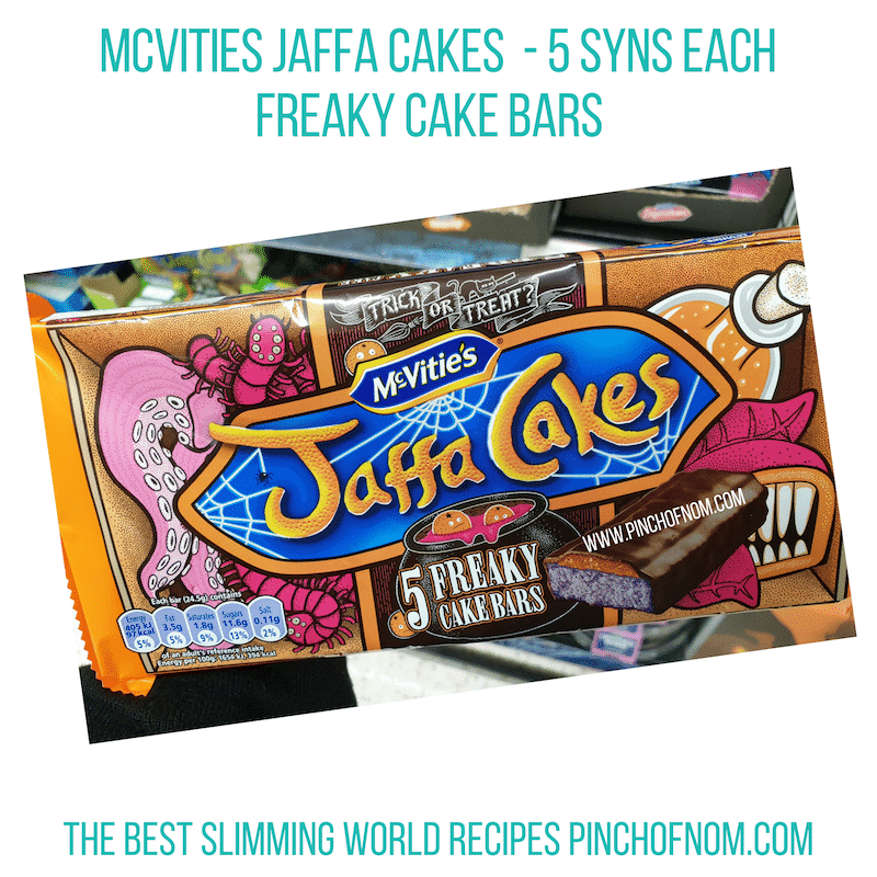 Mcvities Jaffa Cakes Freaky - Pinch of Nom Slimming World Shopping Essentials