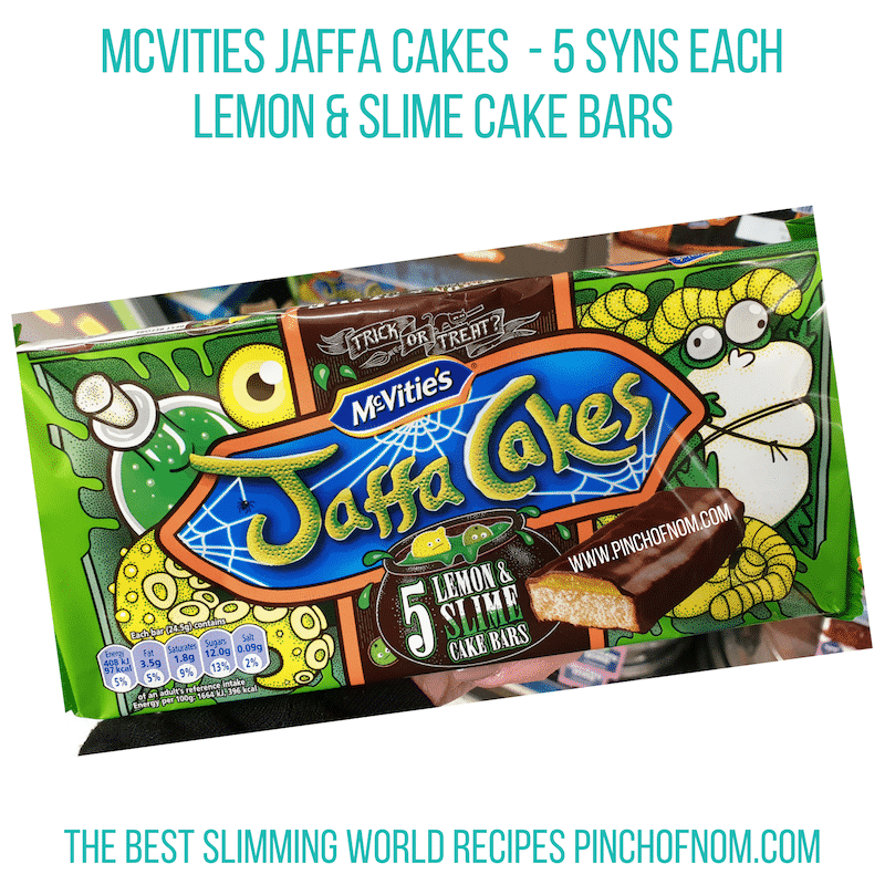 Mcvities Jaffa Cakes Lemon Lime - Pinch of Nom Slimming World Shopping Essentials