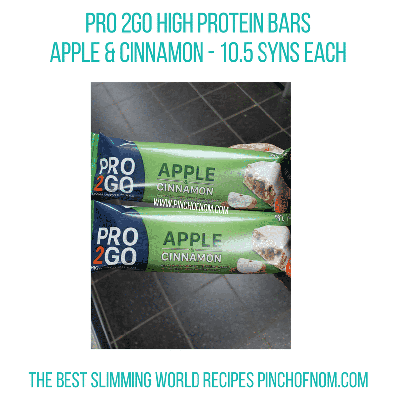 Pro2GO Apple Cinnamon - Pinch of Nom Slimming World Shopping Essentials
