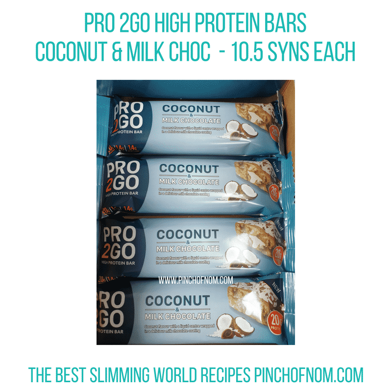 Pro2GO Coconut Milk Choc - Pinch of Nom Slimming World Shopping Essentials