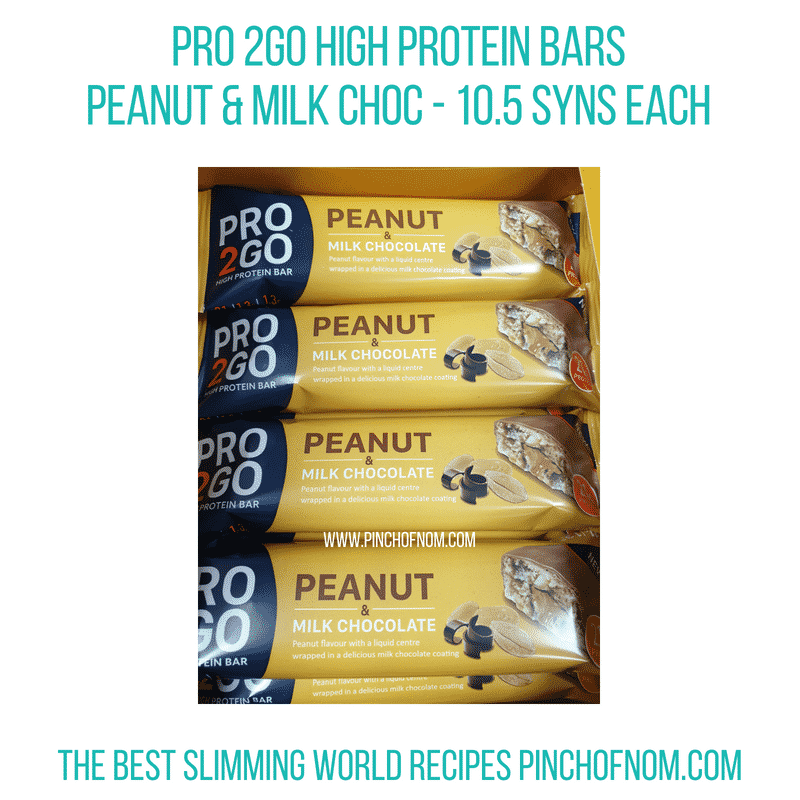 Pro2GO Peanut Milk Choc - Pinch of Nom Slimming World Shopping Essentials