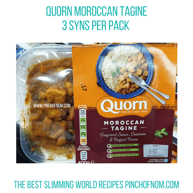 Quorn Moroccan Tagine - Pinch of Nom Slimming World Shopping Essentials