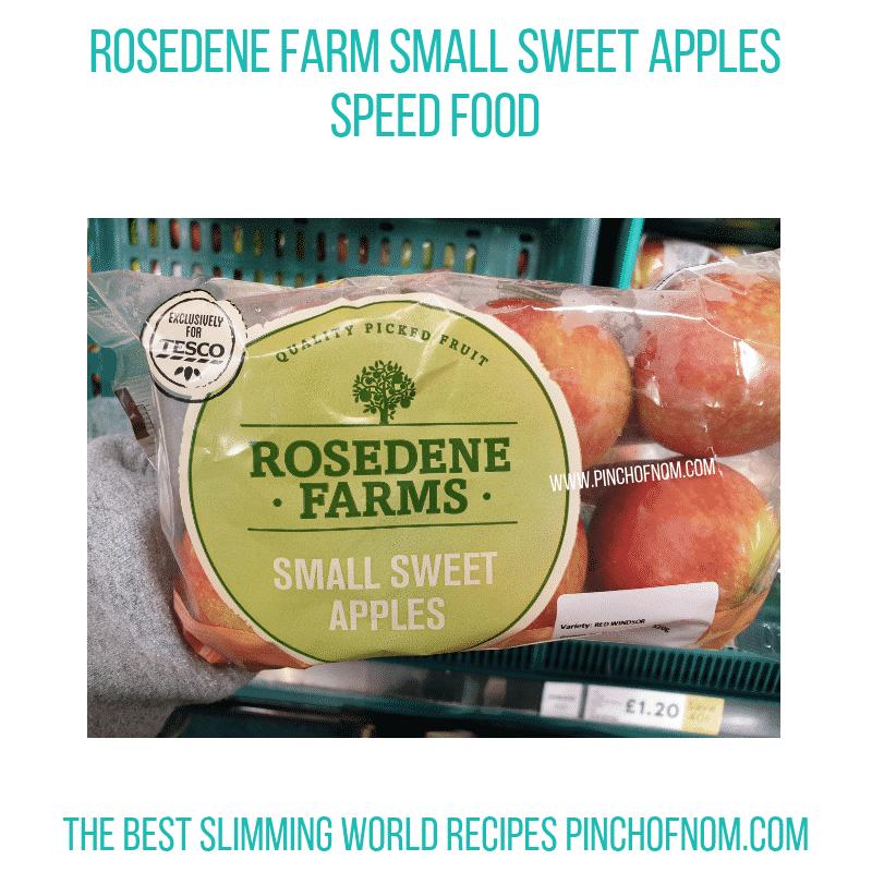 Rosedene Sweet Apples - Pinch of Nom Slimming World Shopping Essentials