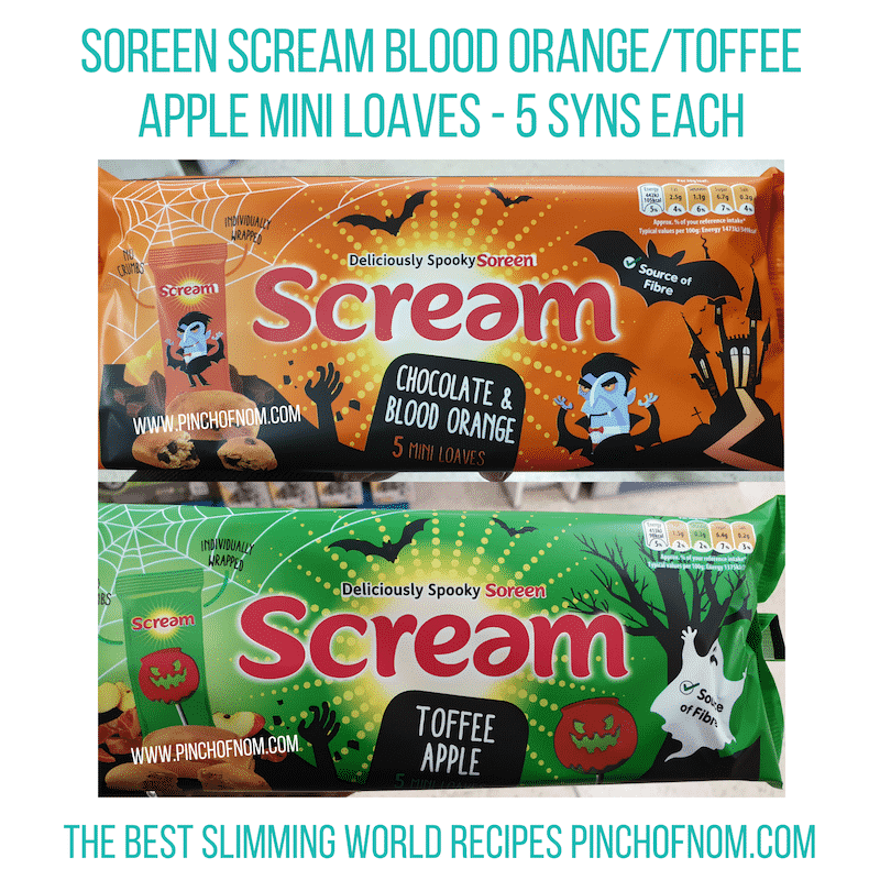 Soreen Scream - Pinch of Nom Slimming World Shopping Essentials