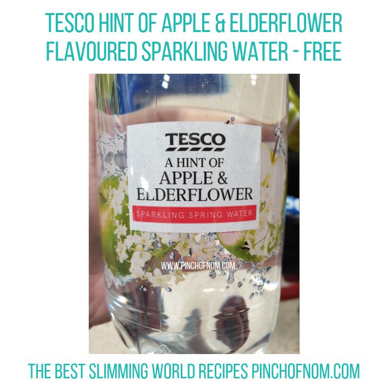 Tesco Elderflower Water - Pinch of Nom Slimming World Shopping Essentials