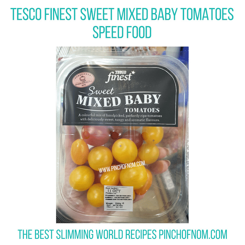 Tesco Mixed Baby Tomatoes - Pinch of Nom Slimming World Shopping Essentials