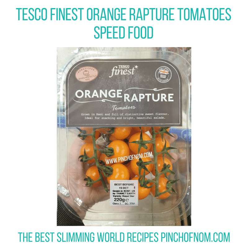 Tesco Orange Rapture - Pinch of Nom Slimming World Shopping Essentials