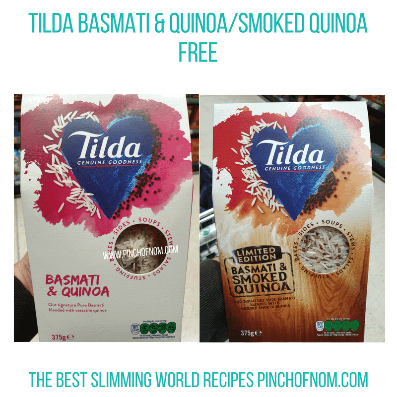 Tilda Basmati Quinoa - Pinch of Nom Slimming World Shopping Essentials