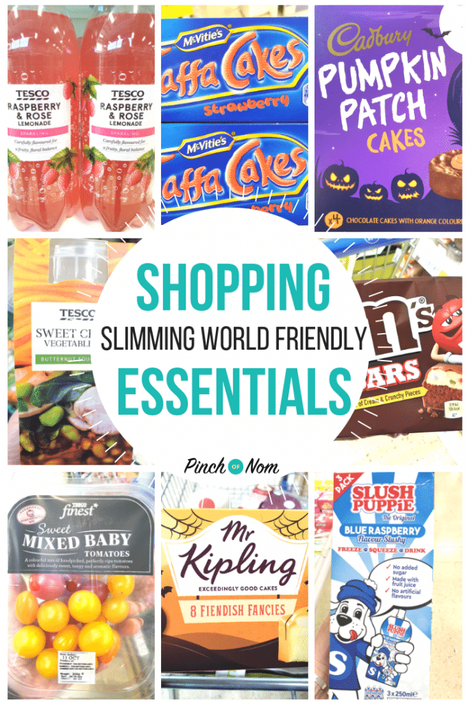 New Slimming World Shopping Essentials 12.10.18
