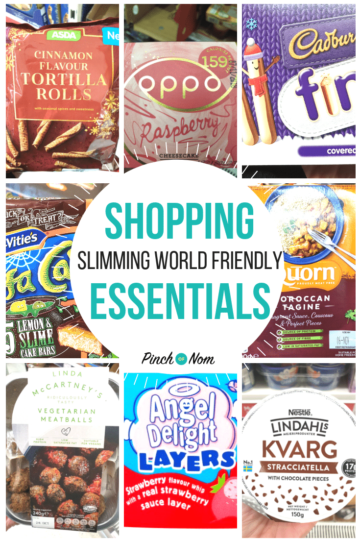shopping first image 19.10.18 - Pinch of Nom Slimming World Shopping Essentials