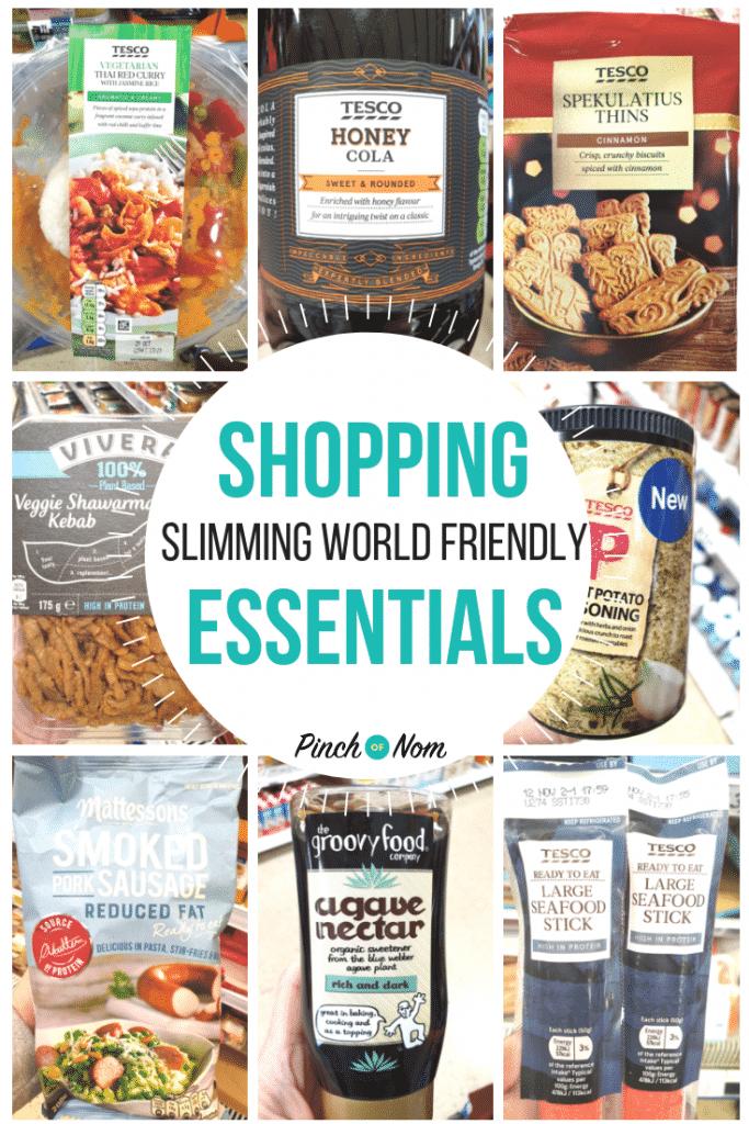 New Slimming World Shopping Essentials 26.10.18