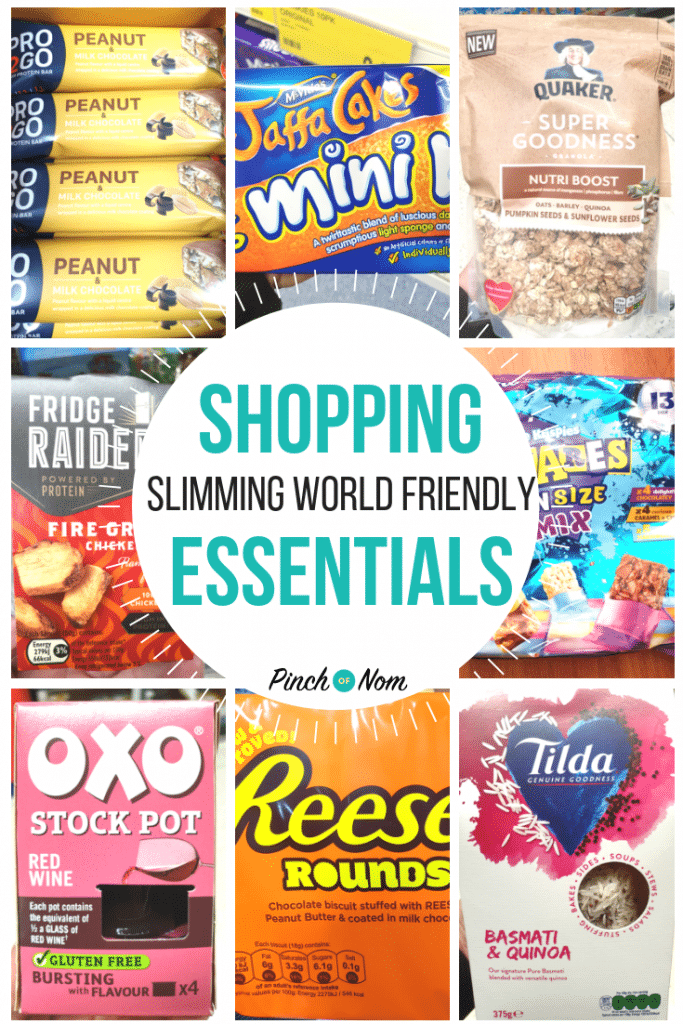 New Slimming World Shopping Essentials 5.10.18