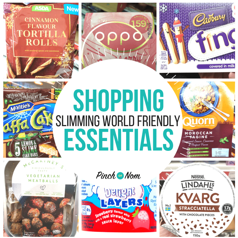 shopping square image 19.10.18 - Pinch of Nom Slimming World Shopping Essentials