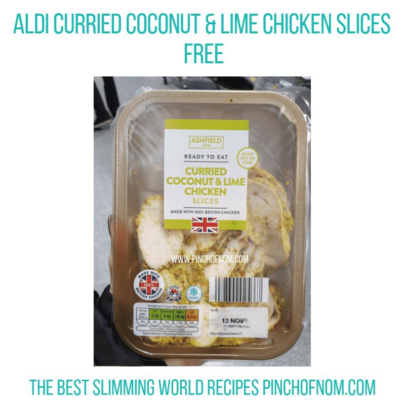 Aldi Lime Chicken - Pinch of Nom Slimming World Shopping Essentials