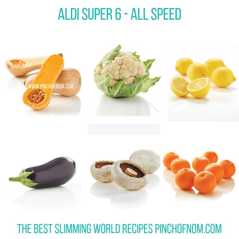 Aldi Super 6 9.11.18 - Pinch of Nom Slimming World Shopping Essentials
