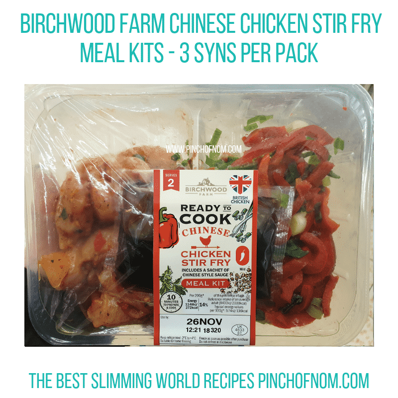 Lidl Birchwood Chinese chicken - Pinch of Nom Slimming World Shopping Essentials