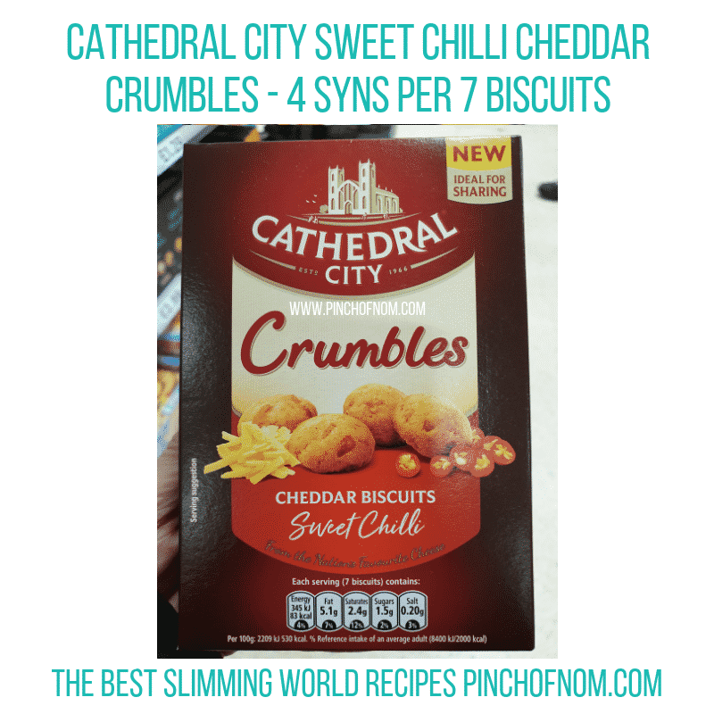 Cathedral Cheddar bites - Pinch of Nom Slimming World Shopping Essentials