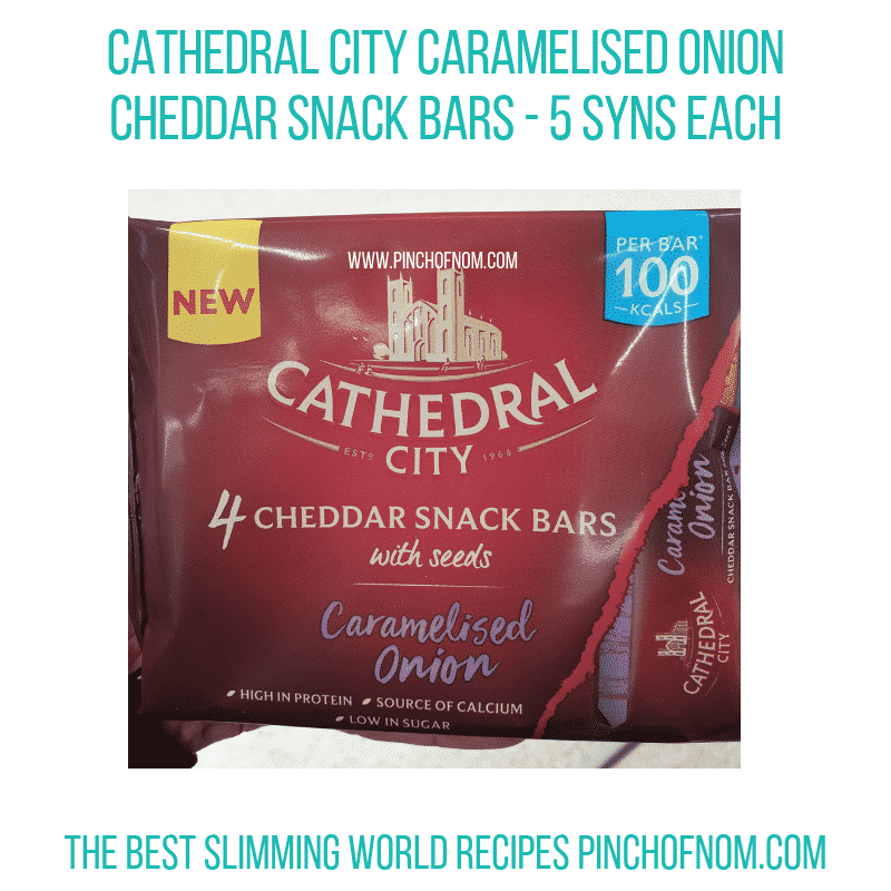 Cathedral City Snack Bars - Pinch of Nom Slimming World Shopping Essentials