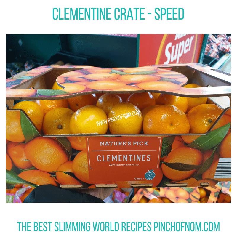 Clementine Crate Pinch of Nom Slimming World Shopping Essentials