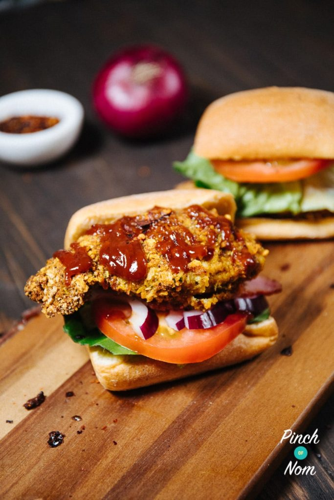 Crispy Jerk Chicken Stack | Slimming World & Weight Watchers Friendly