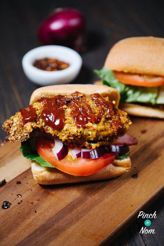 Crispy Jerk Chicken Stack   Slimming & Weight Watchers Friendly