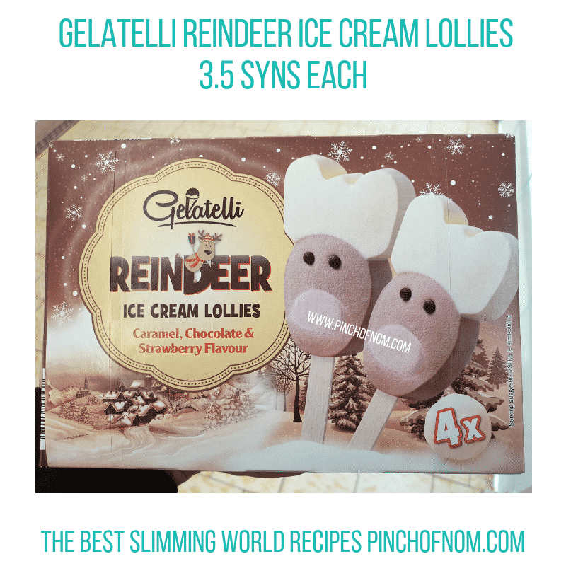 Gelatelli Reindeer - Pinch of Nom Slimming World Shopping Essentials