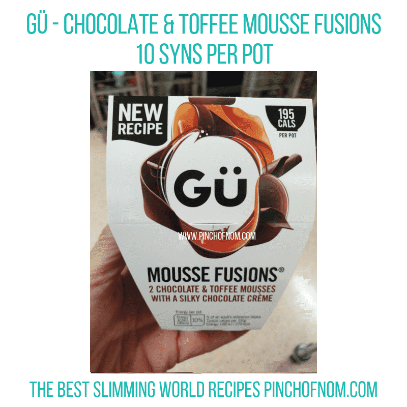 Gu Choc Toffee - Pinch of Nom Slimming World Shopping Essentials