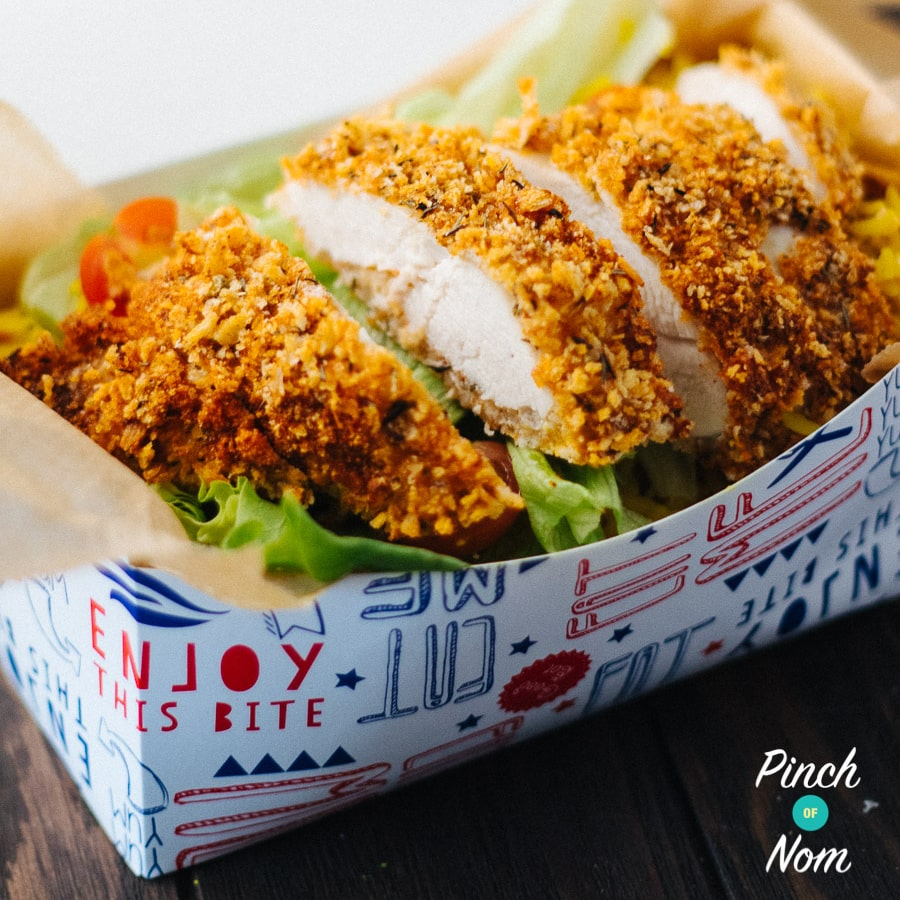 KFC Rice Box | Slimming & Weight Watchers Friendly