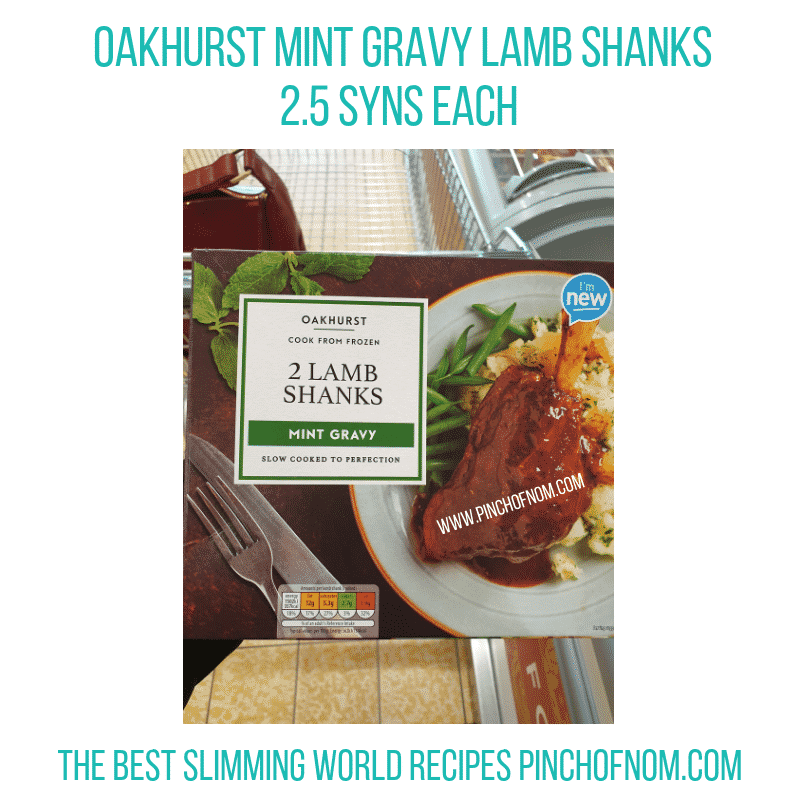 Oakhurst 2 Lamb Shanks - Pinch of Nom Slimming World Shopping Essentials