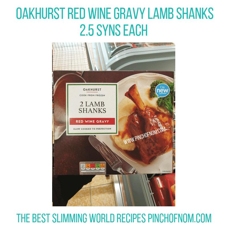 Oakhurst Wine Gravy Shanks - Pinch of Nom Slimming World Shopping Essentials