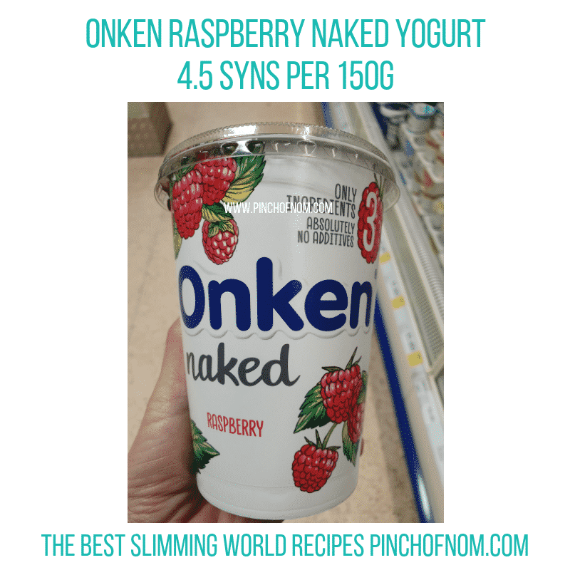 Onken Naked Raspberry - Pinch of Nom Slimming World Shopping Essentials