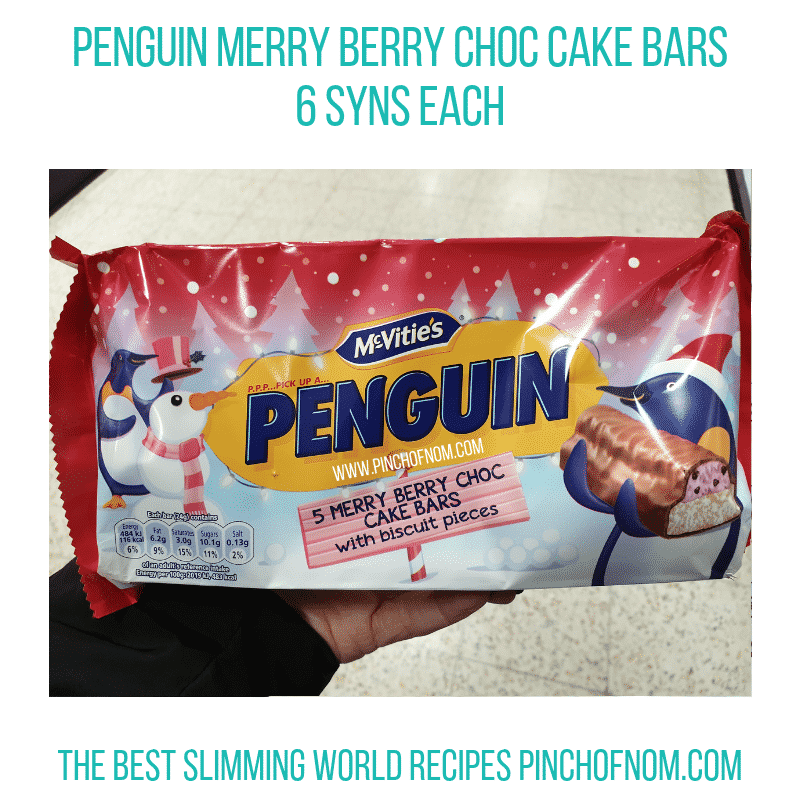 Penguin Merry Berry - Pinch of Nom Slimming World Shopping Essentials