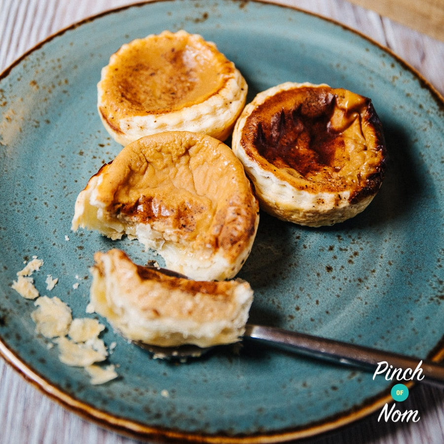 Portuguese Custard Tarts | Slimming World & Weight Watchers Friendly