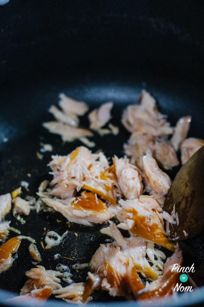 Smoked Salmon Spaghetti Carbonara   Slimming & Weight Watchers Friendly