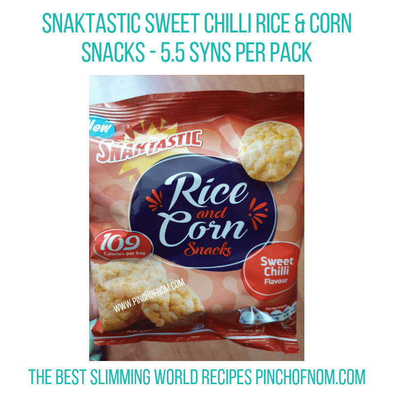 Snaktastic rice & corn - Pinch of Nom Slimming World Shopping Essentials