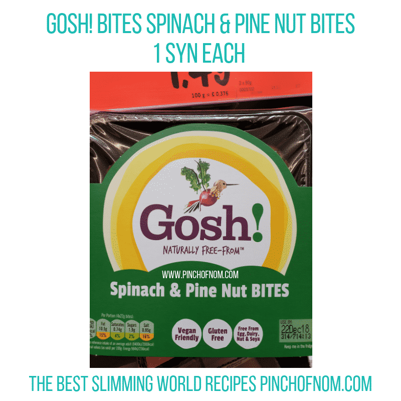 Gosh! bites - Pinch of Nom Slimming World Shopping Essentials