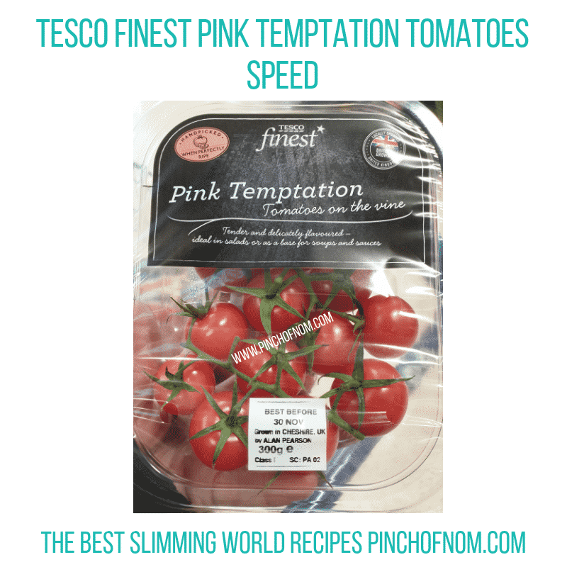 Tesco Tomatoes - Pinch of Nom Slimming World Shopping Essentials
