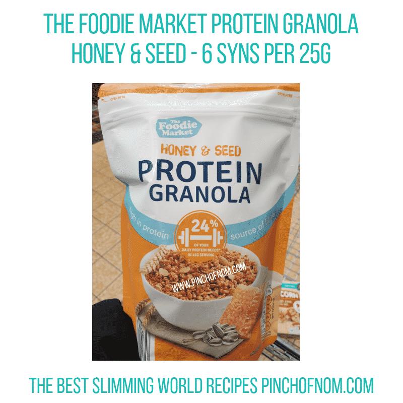 The Foodie Market Fruit Granola - Pinch of Nom Slimming World Shopping Essentials