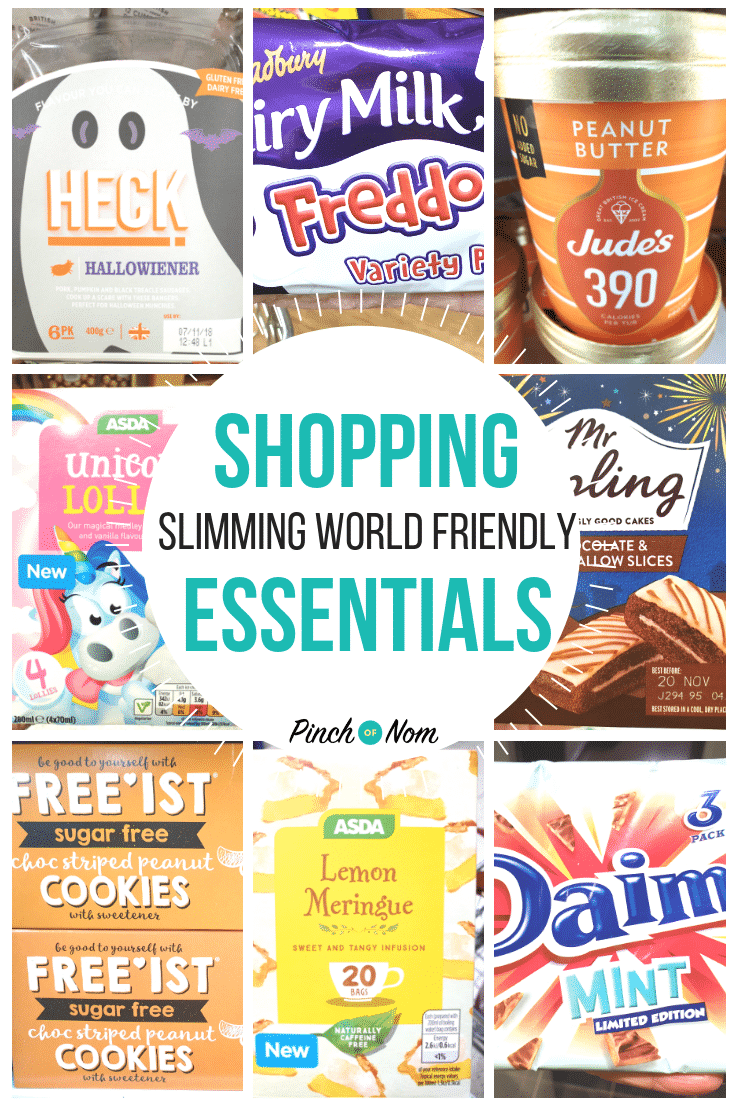 shopping first image 02-11-18 - Pinch of Nom Slimming World Shopping Essentials