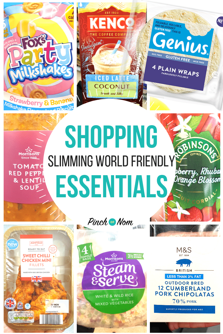 shopping first image 09-11-18-fixed - Pinch of Nom Slimming World Shopping Essentials