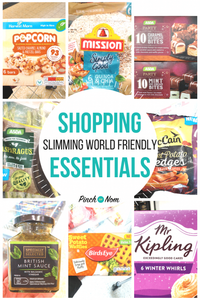 shopping first image-New Slimming World Shopping Essentials 16.11.18
