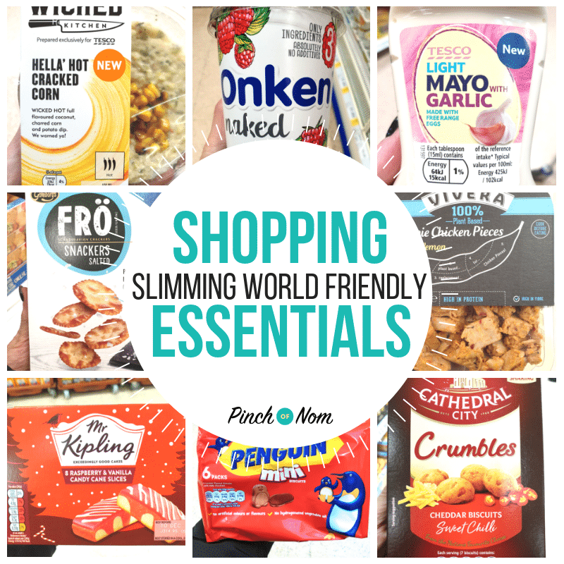 New Slimming World Shopping Essentials 30.11.18