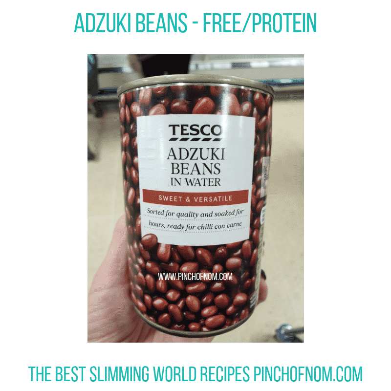 Adzuki Beans - Pinch of Nom Slimming World Shopping Essentials