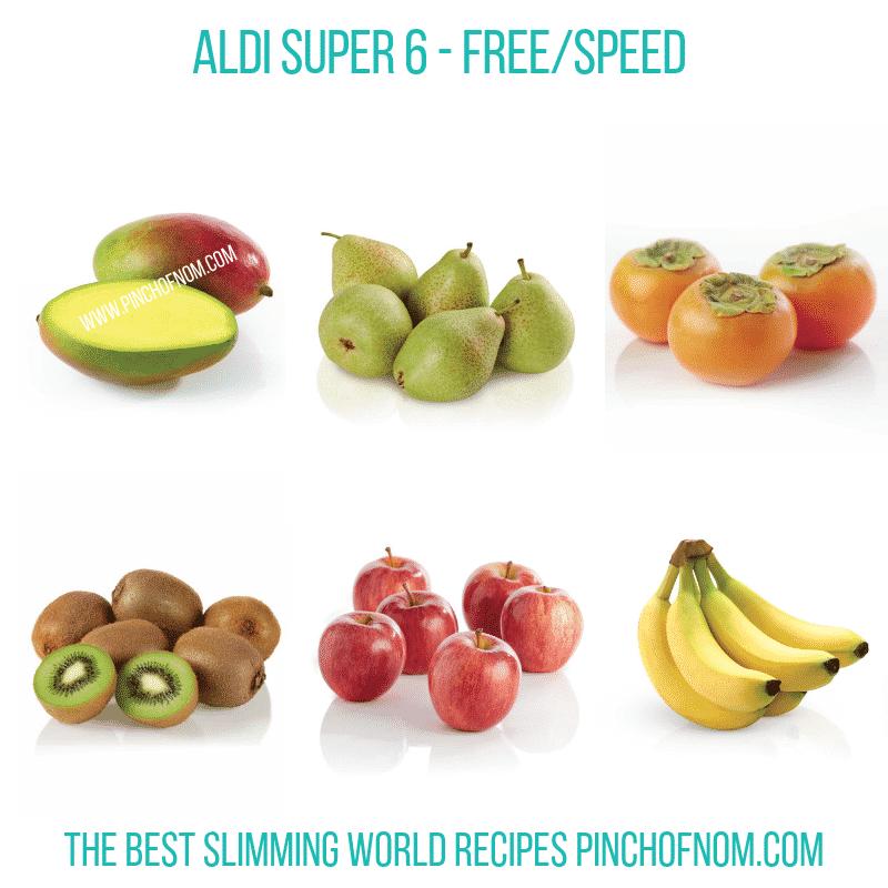 Aldi Super 6 14-12-18 - Pinch of Nom Slimming World Shopping Essentials