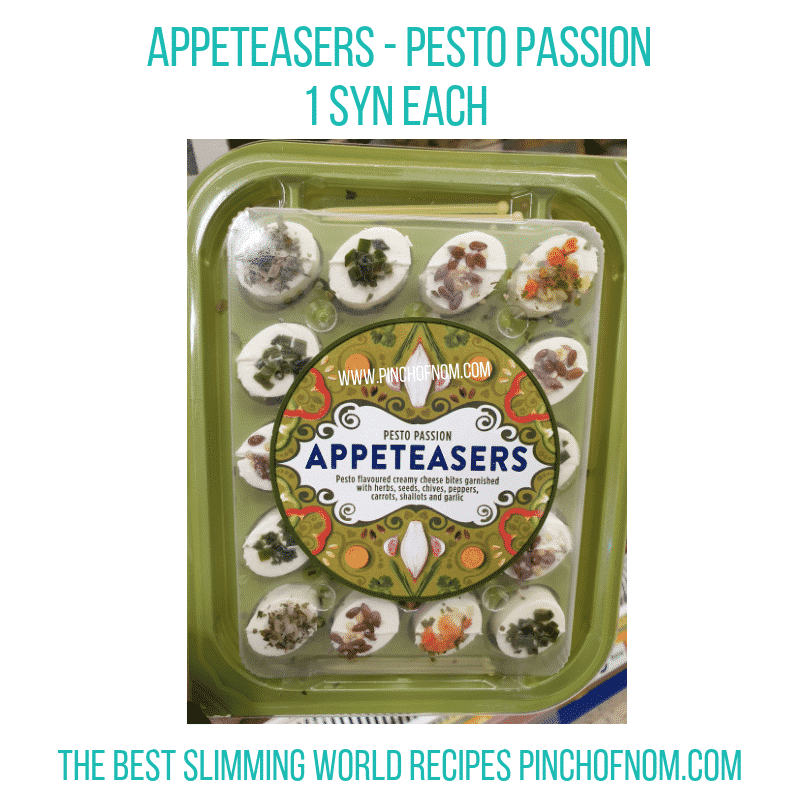 Appeteasers Pesto Passion - Pinch of Nom Slimming World Shopping Essentials