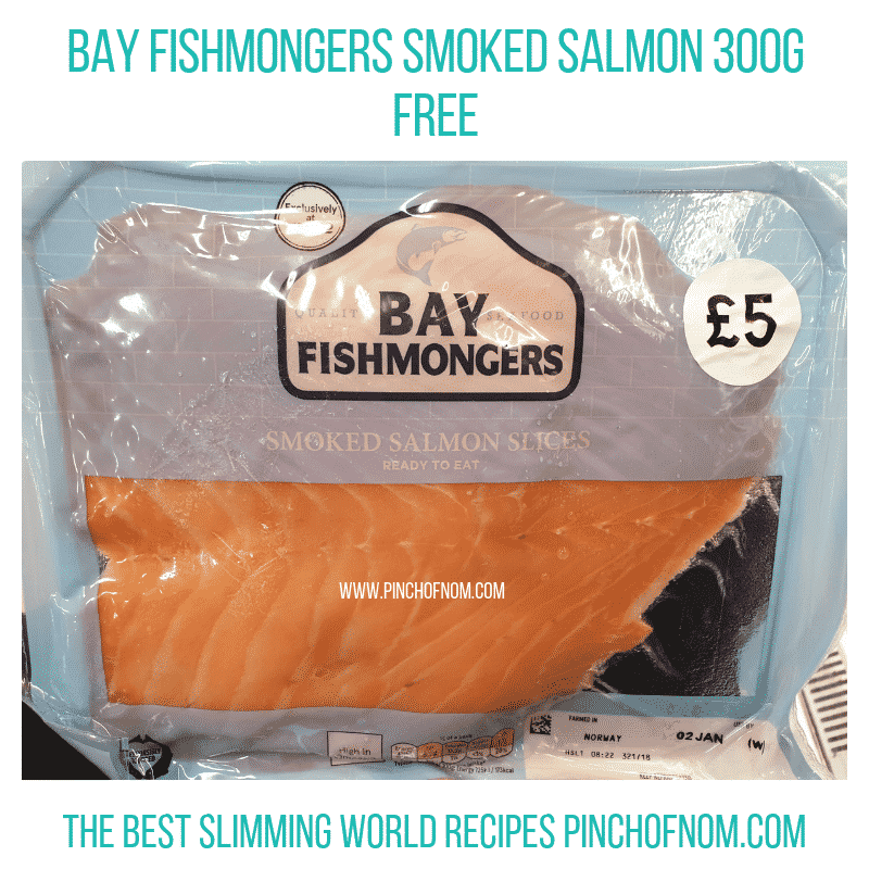 Bay Fishmongers Salmon - Pinch of Nom Slimming World Shopping Essentials